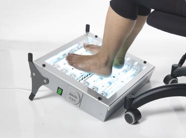 Devices used to treat palmoplantar psoriasis