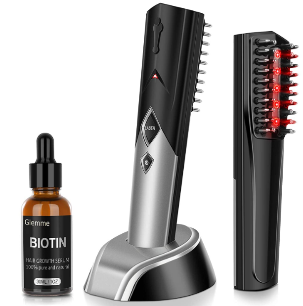 Laser Comb with Biotin