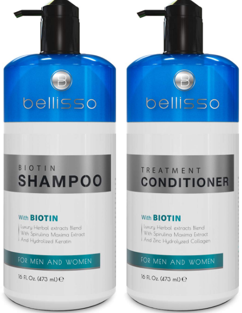 Set for Hair Growth: Biotin Shampoo and Conditioner