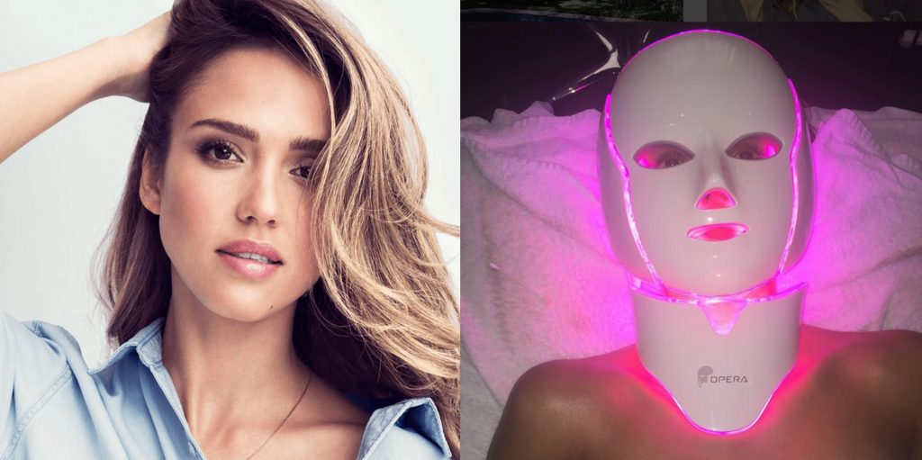 Opera LED Light Therapy Mask (from $1800) — Jessica Alba