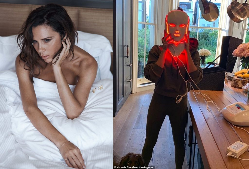 Opera LED Light Therapy Mask (from $1800) — Victoria Beckham